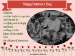 Children, Citizens Of Tomorrow: Jawaharlal Nehru