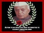 Quote on Action by Jawaharlal Nehru