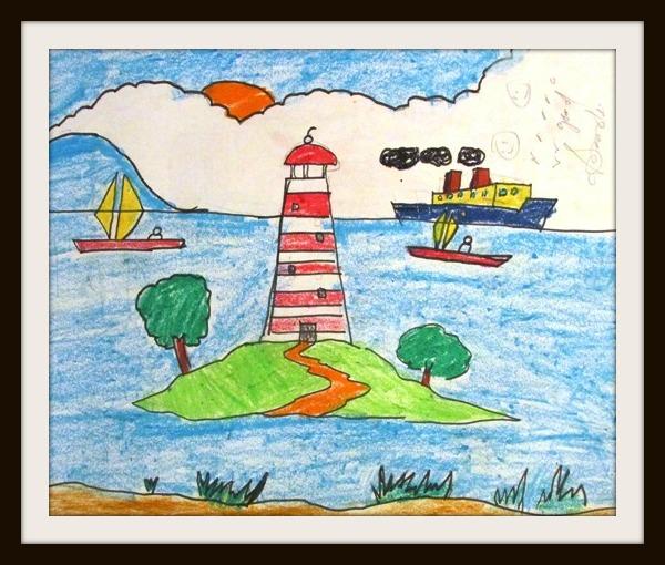 A Lighthouse on an Island