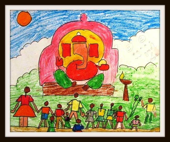Art by Kids: Ganpati Puja