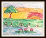 Creative Art by kids
