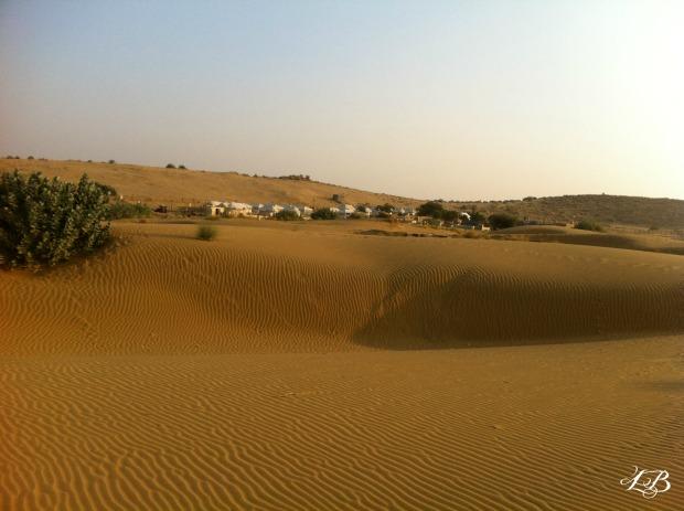 Near Sam Sand Dunes, Jaisalmer