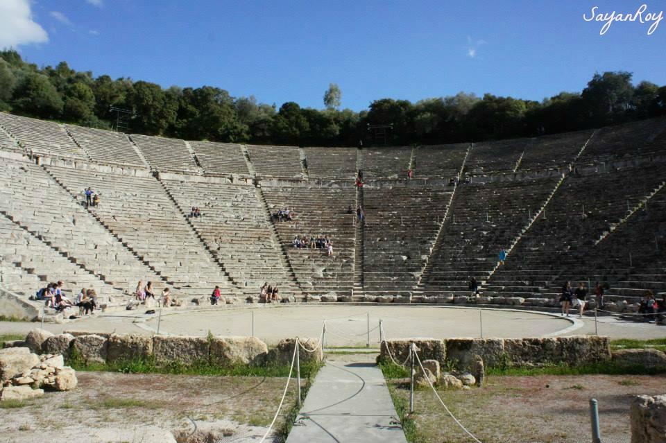 Theatre of Epidauros, Greece