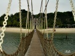 Bridge to southernmost point of continental Asia