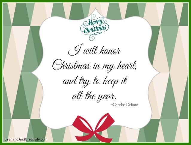 Honour Christmas