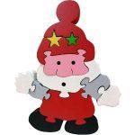 Skillofun Christmas Take Apart Puzzle - Santa Claus