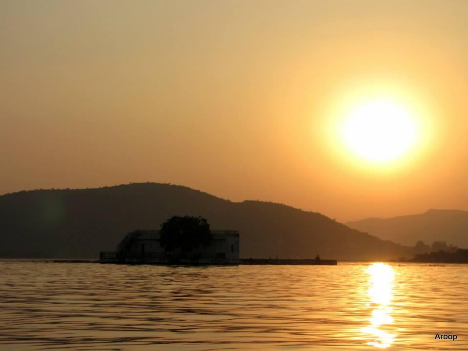 Sunset at Pichhola Lake, Udaipur