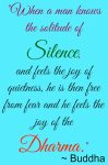 Silence and Spirituality