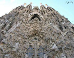 Nativity Facade, The Sagrada Família, Barcelona