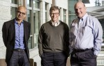 From L to R: Microsoft CEO Satya Nadella with Founder and Technology Advisor Bill Gates and former CEO Steve Ballmer (Pic: Microsoft)