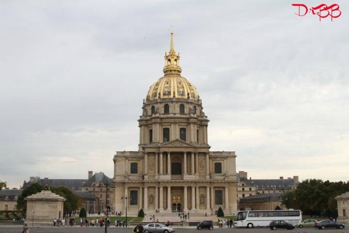Dome des Invalides, Hotel des invalides, Paris