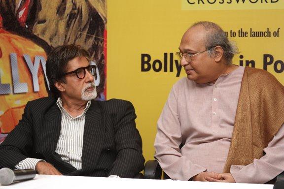 Amitabh Bachchan and Gautam Rajyadhaksha