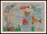 Art by kids fishes