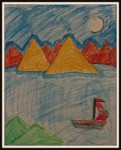 Art by Kids - Sailing Boat