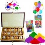 Holi Colors with Chocolates
