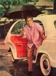 """""""When megastars weren't brand ambassadors, carried their own umbrella and rode an Ambassador!"""" says SMM Ausaja"""