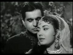 Dilip Kumar and Meena Kumari in Kohinoor