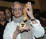 Gulzar with the coveted Dadasaheb Phalke award
