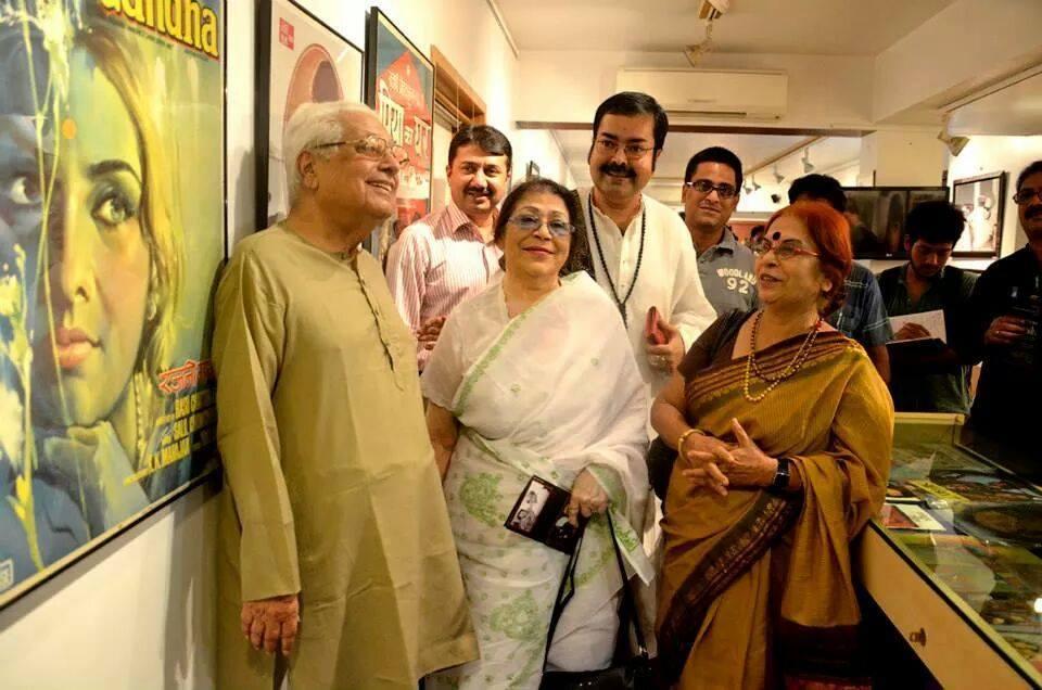 Basu Chatterji, Sabita Chowdhury, Bani Basu, SMM Ausaja, Sounak Chacraverti and Supratik Roy