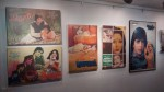 Posters of Basu Chatterji's films on display at the exhibition