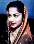 Waheeda Rehman in a 1959 issue of Filmfare magazine.