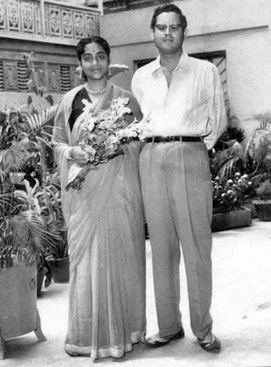 Geeta Dutt and Guru Dutt