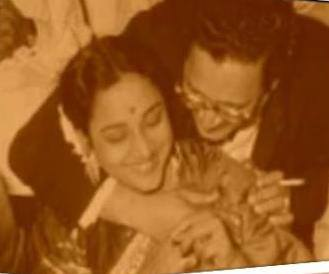 Geeta Dutt and Guru Dutt