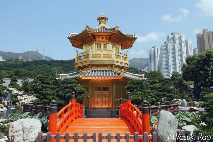 The golden Perfection Pavilion