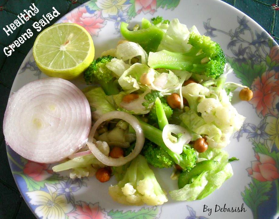 Healthy Greens Salad Recipe