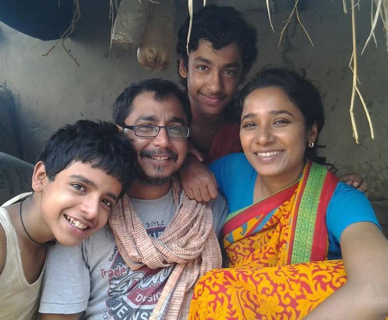 Soham Maitra, Bikas Mishra, Riddhi Sen and Tannishtha Chatterjee