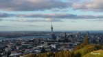 Mount Eden - the view of Auckland breathtaking from the top with the Tasman Sea on one side and the Pacific on the other