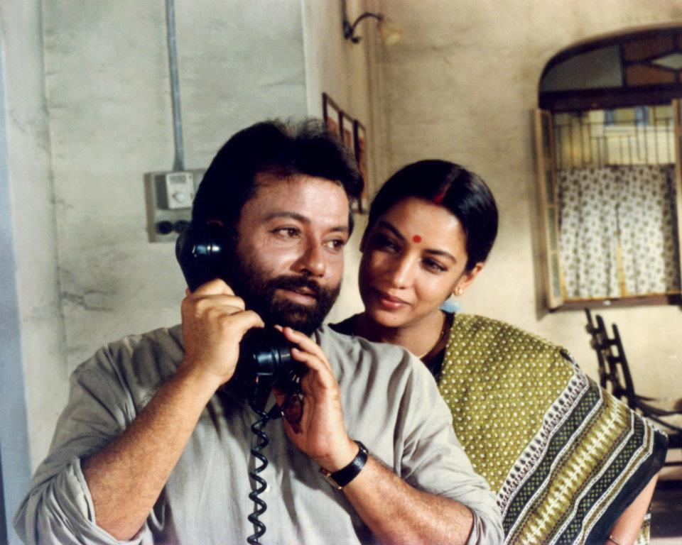 Pankaj Kapur & Shabana Azmi in EK DOCTOR KI MAUT [Death of A Doctor]