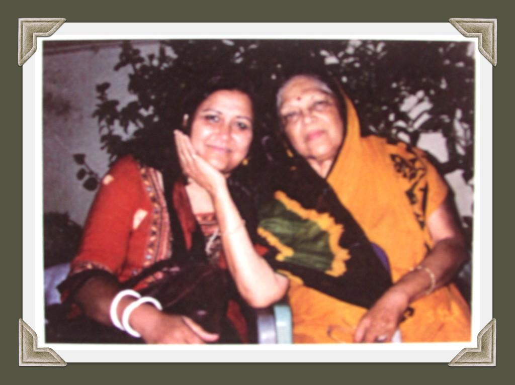 Shobha Gurtu with Samina De