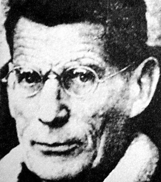 Samuel Beckett, Portrait, circa 1970