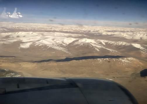 Ladakh aerial view