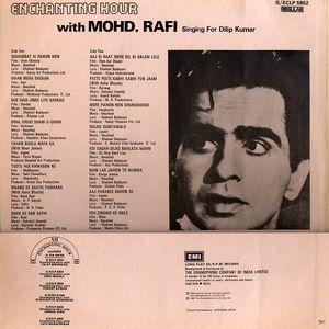 Enchanting Hour Mohd Rafi sings for Dilip Kumar