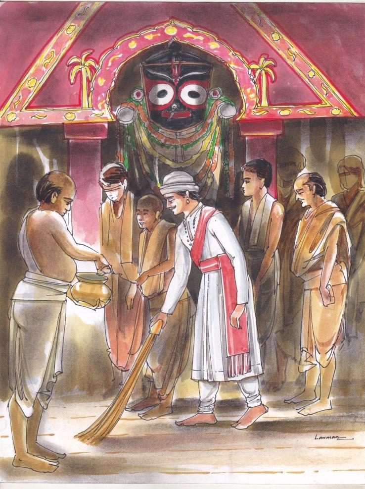 Lord Jagannath Tales book: Chera Panhara