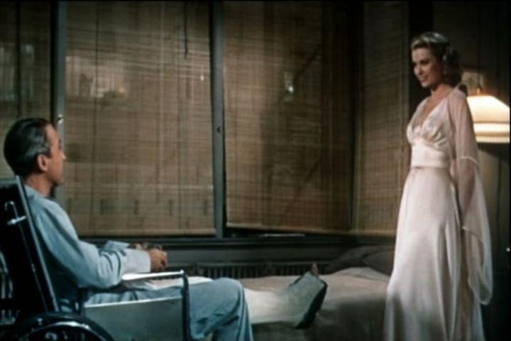 James Stewart and Grace Kelly in Rear Window (1954) (Pic courtesy: Wikipedia)