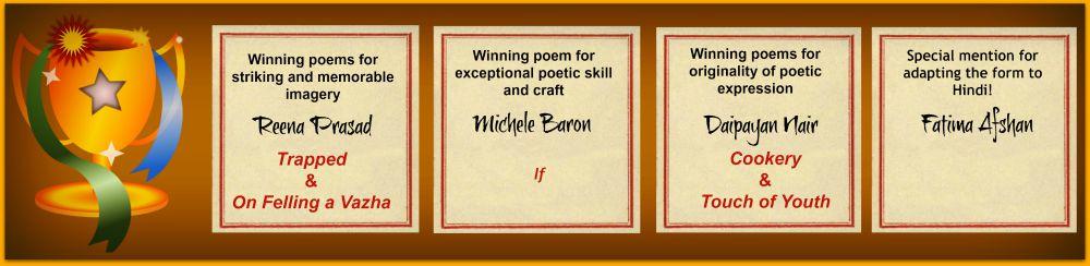 Roseate sonnet winners