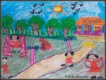 My Fun Times: Pastels on Paper