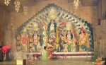 The most beautiful Puja Pandal was given the 'Spectacular Spectrum Shield' by the sponsors.