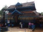The entrance to the Mulakunnathukavu temple