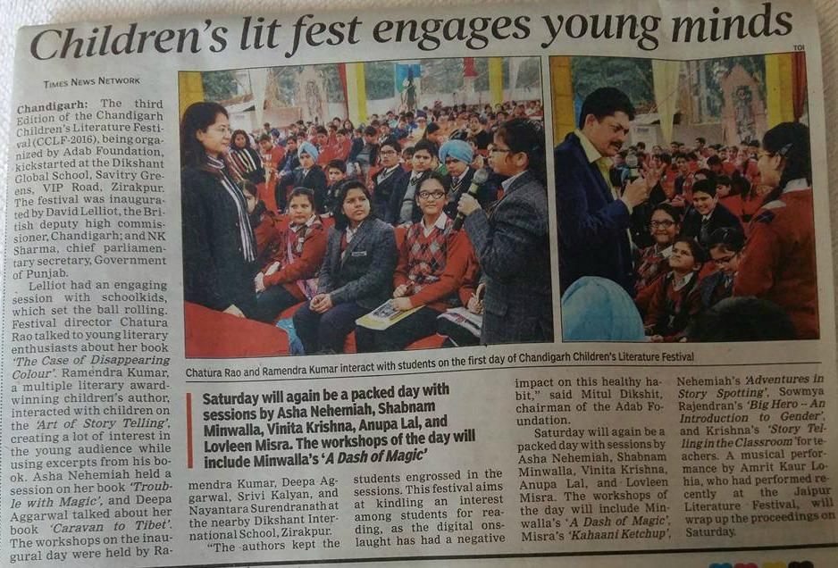 Chandigarh Children's Literature Festival 6