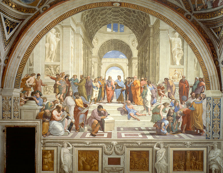 The School of Athens (Pic: Wikimedia Commons)