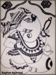 Ink Drawings by Raghav - Art by Kids