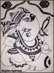 Ink Drawings by Raghav - Art by Kids