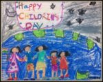 Happy Children's Day: Paintings by Preetika