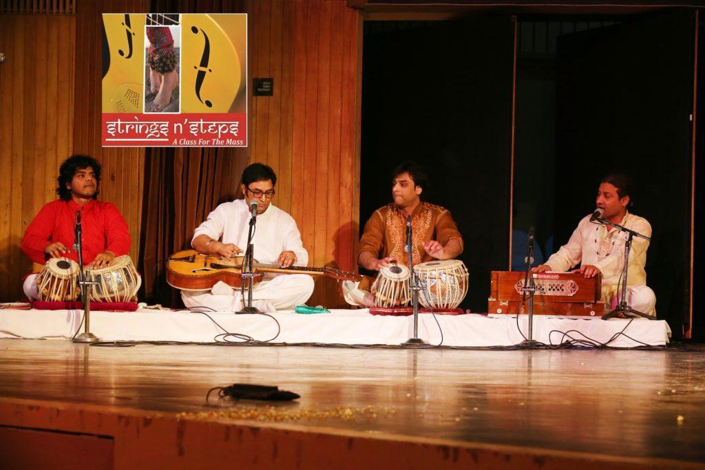 'Strings N Steps Group performance