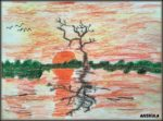 Nature in Oil Pastels