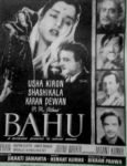 Bahu (1955), Shakti Samanta's directorial debut was produced by Bikram Pahwa the eldest of the three Pahwa Brothers. The youngest brother was introduced in the film as Basant Kumar (bottom right) (Pic: Sundeep Pahwa)